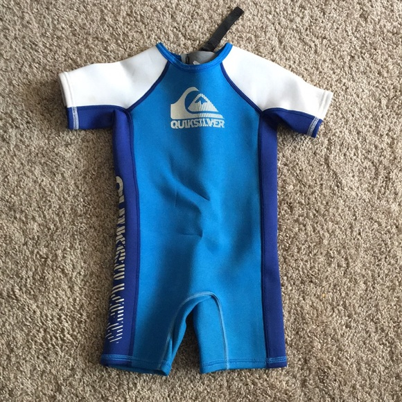 8e3bd1e6f2 Quiksilver toddler boy wet suit